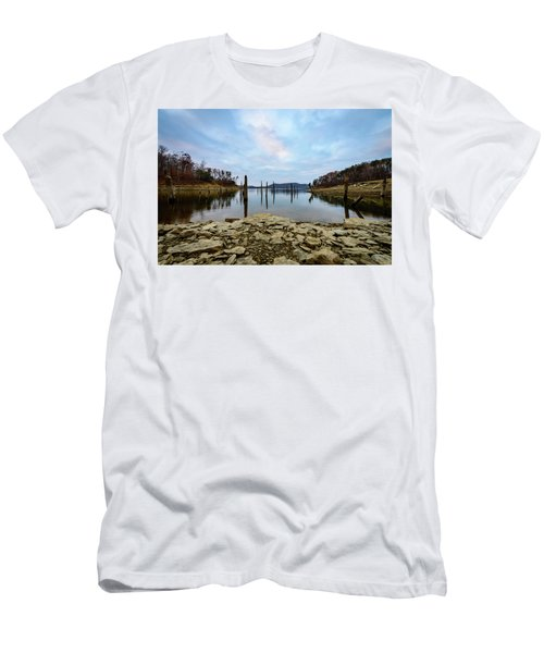 The Bottom Of The Lake Men's T-Shirt (Athletic Fit)
