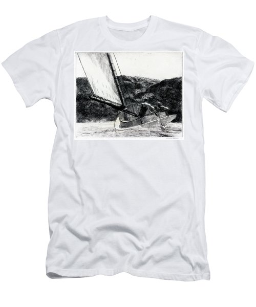 The Cat Boat Men's T-Shirt (Athletic Fit)