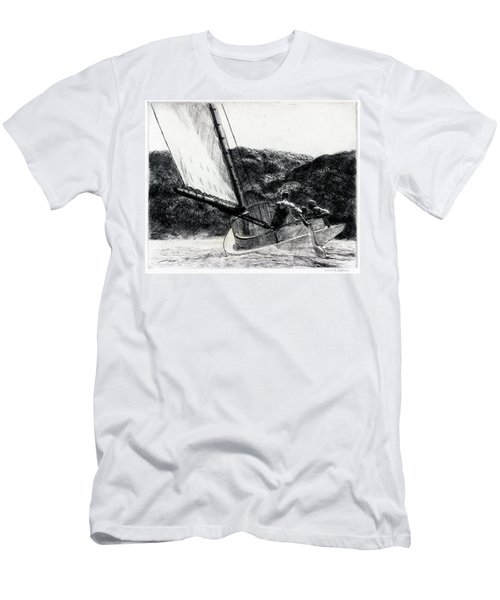 The Cat Boat Men's T-Shirt (Athletic Fit)