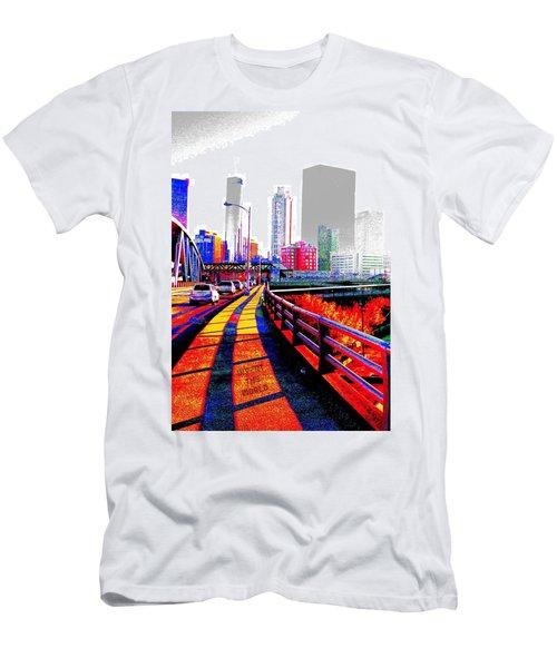 The City  Men's T-Shirt (Athletic Fit)