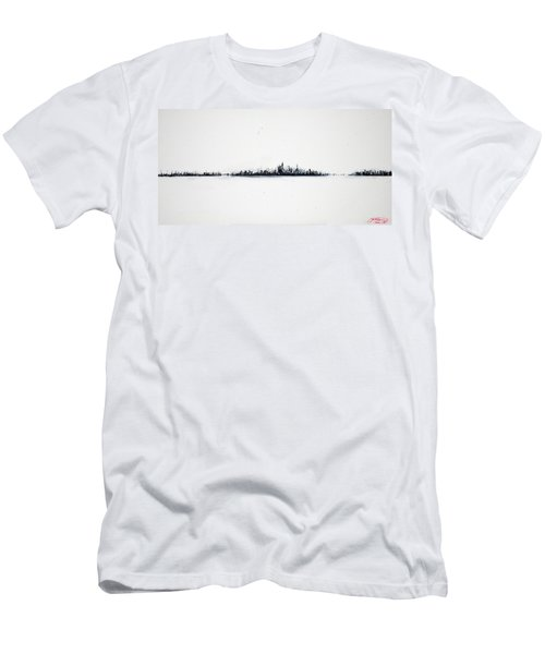 The City New York Men's T-Shirt (Athletic Fit)