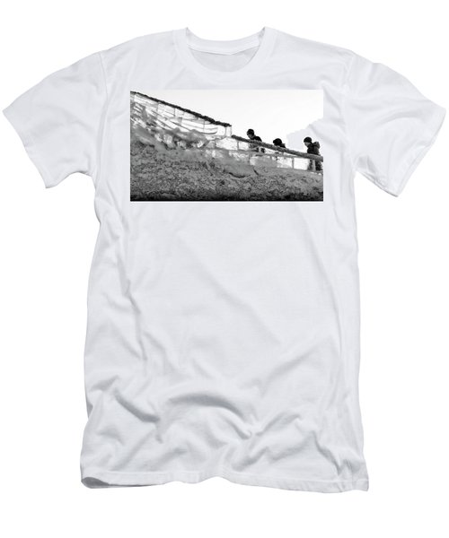Men's T-Shirt (Athletic Fit) featuring the photograph The Climbers by John Williams
