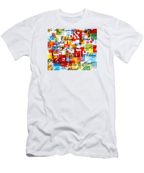 The Creator Men's T-Shirt (Slim Fit) by Gary Bodnar