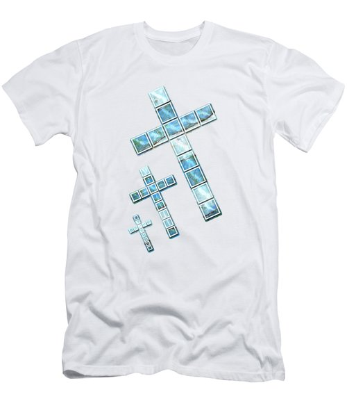 The Cross Speaks Of You Men's T-Shirt (Athletic Fit)