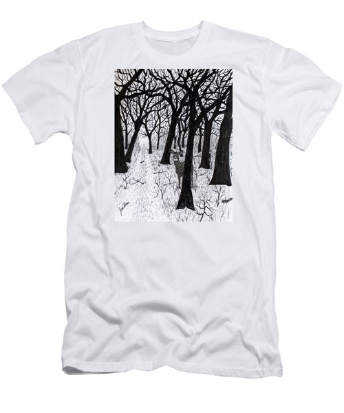 The Crossing  160120 Men's T-Shirt (Slim Fit) by Jack G Brauer