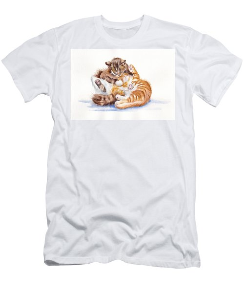 The Cuddly Kittens Men's T-Shirt (Athletic Fit)