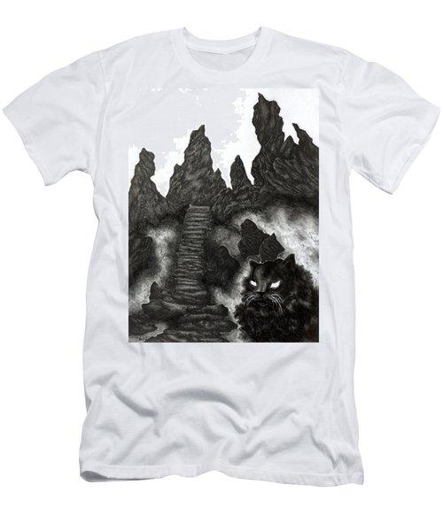 The Demon Cat Men's T-Shirt (Athletic Fit)