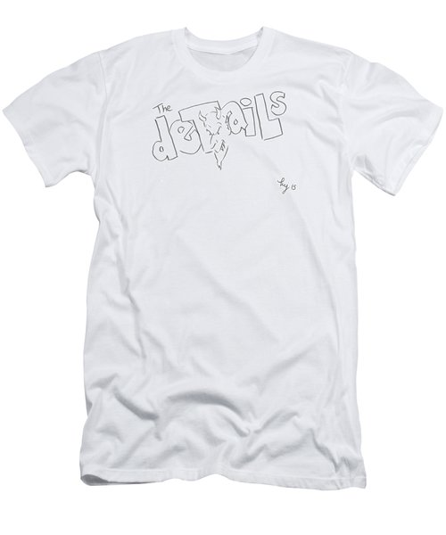 The Devils In The Details Cartoon Men's T-Shirt (Athletic Fit)