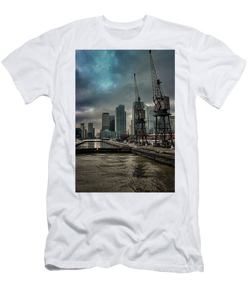 The Docks Men's T-Shirt (Athletic Fit)