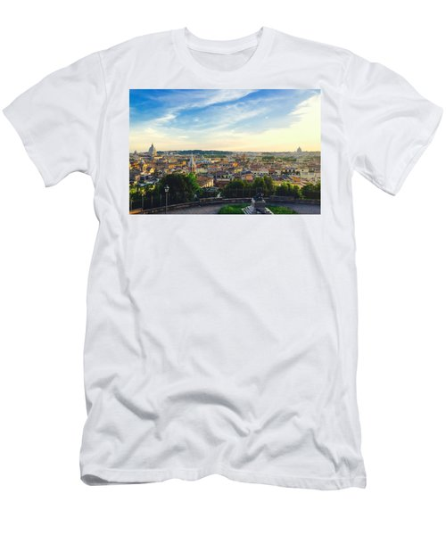 The Domes Of Rome Men's T-Shirt (Athletic Fit)
