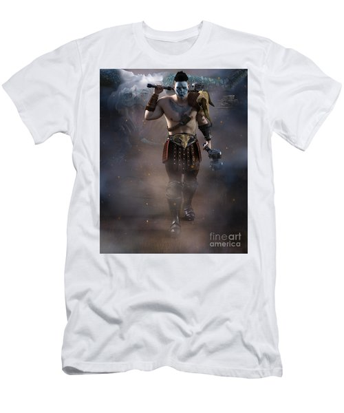 The Dragon Master Men's T-Shirt (Athletic Fit)