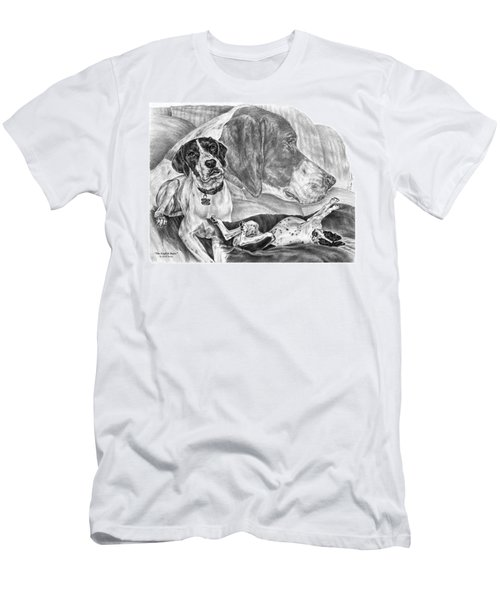 The English Major - English Pointer Dog Men's T-Shirt (Athletic Fit)