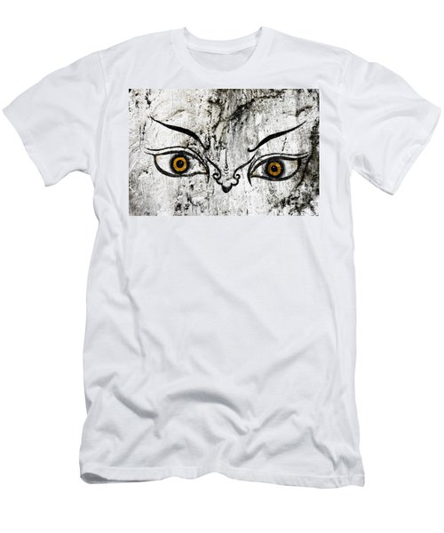 The Eyes Of Guru Rimpoche  Men's T-Shirt (Athletic Fit)