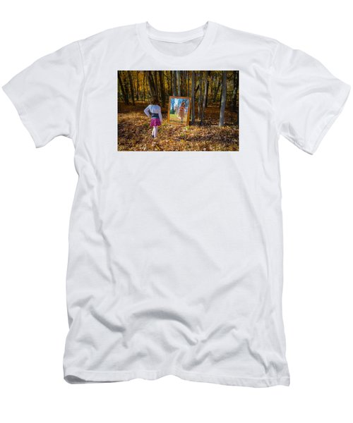 The Fairy In The Mirror Men's T-Shirt (Athletic Fit)