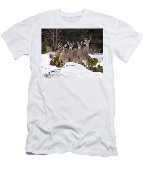 Men's T-Shirt (Athletic Fit) featuring the photograph The Family by Angel Cher