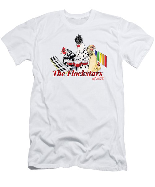 The Flockstars Men's T-Shirt (Slim Fit) by Sarah Rosedahl