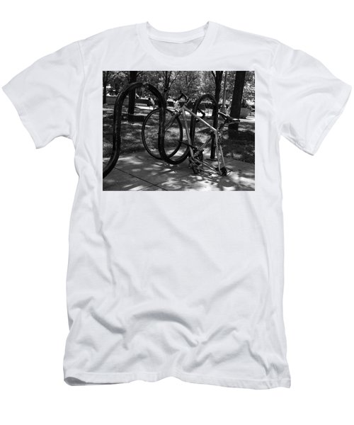 Men's T-Shirt (Athletic Fit) featuring the photograph The Forgotten by Stuart Manning