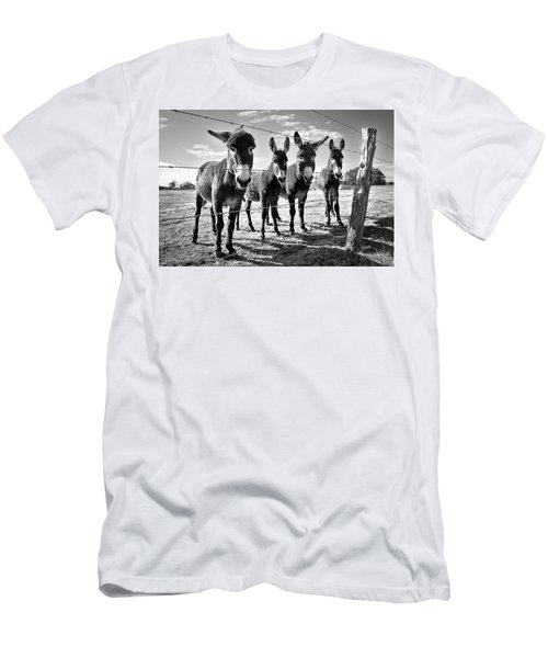 The Four Amigos Men's T-Shirt (Slim Fit) by Sharon Jones
