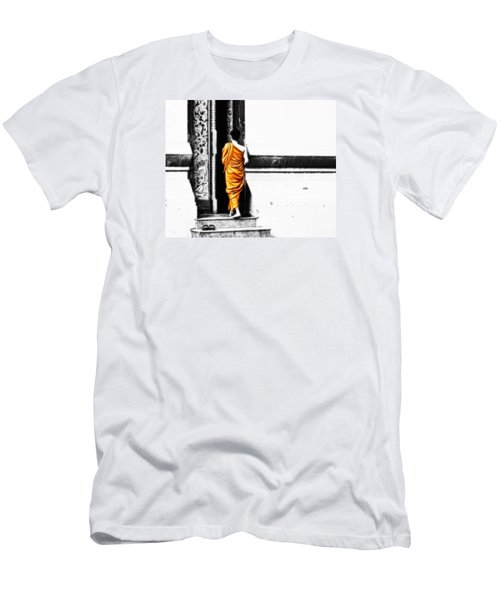 The Gilded Monk Men's T-Shirt (Slim Fit) by Cameron Wood