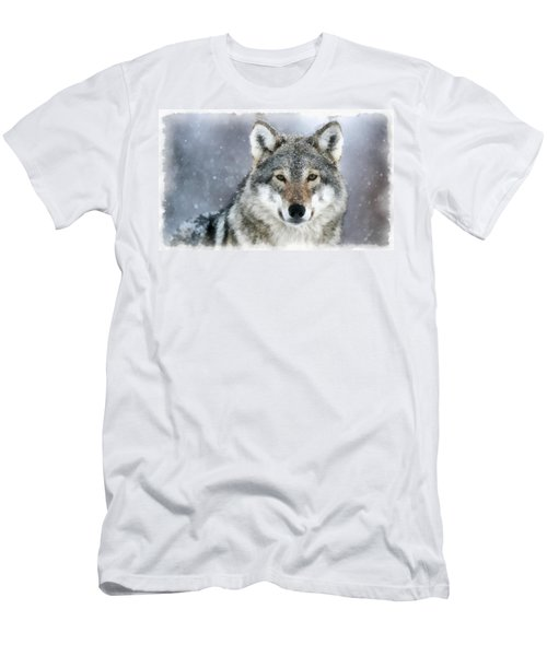 The Grey Wolf Men's T-Shirt (Athletic Fit)