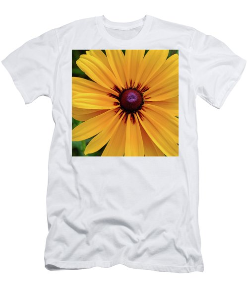 Men's T-Shirt (Athletic Fit) featuring the photograph The Heart Of A Flower by Monte Stevens