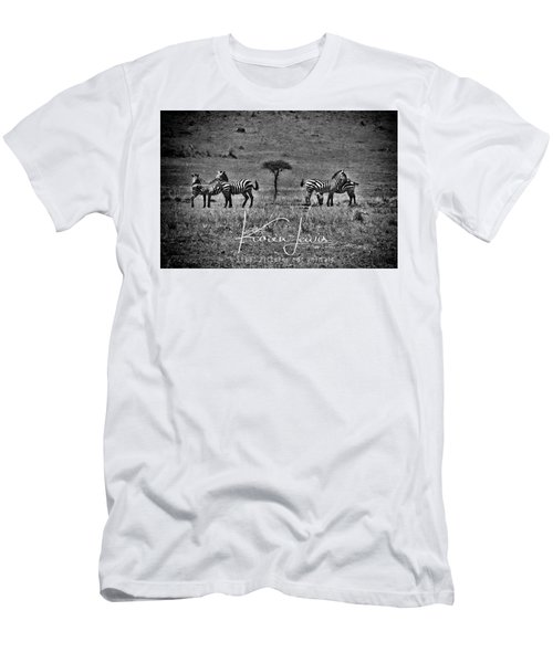 Men's T-Shirt (Slim Fit) featuring the photograph The Herd by Karen Lewis
