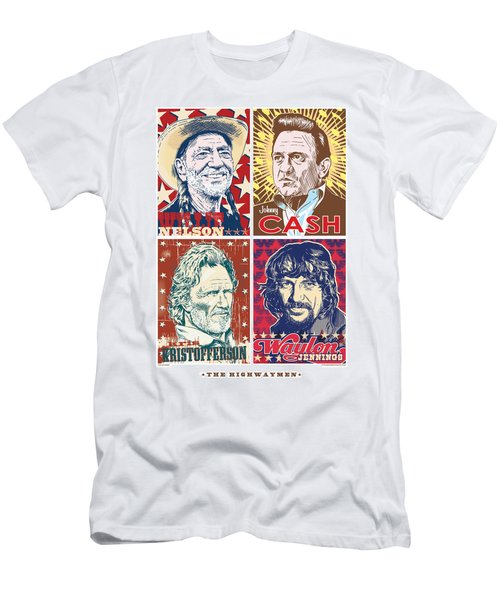 The Highwaymen Men's T-Shirt (Slim Fit) by Jim Zahniser