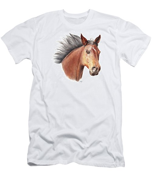 The Horse Men's T-Shirt (Slim Fit) by Mike Ivey