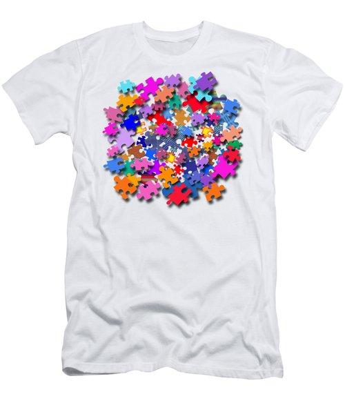 The Impossible Puzzle Men's T-Shirt (Athletic Fit)