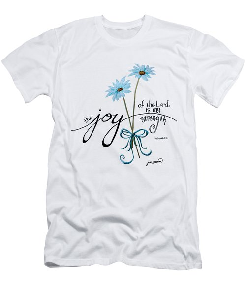 The Joy Of The Lord Outlilne By Jan Marvin Men's T-Shirt (Athletic Fit)