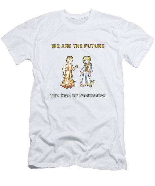 The Kids Of Tomorrow Corie And Albert Men's T-Shirt (Slim Fit)