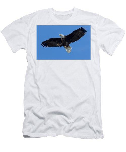 The Landing Men's T-Shirt (Slim Fit) by Sheldon Bilsker