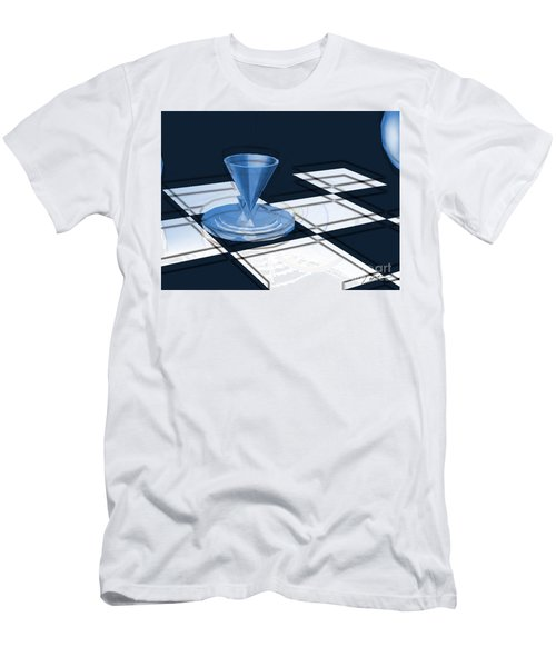 The Last Chess Pawn Men's T-Shirt (Athletic Fit)
