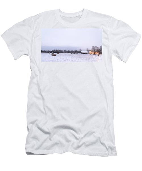 The Last Farm... Men's T-Shirt (Athletic Fit)