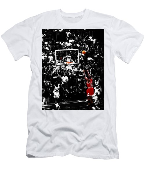 The Last Shot 23 Men's T-Shirt (Slim Fit) by Brian Reaves