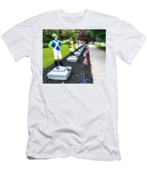 The Lawn Jockeys Of Saratoga Springs Men's T-Shirt (Athletic Fit)
