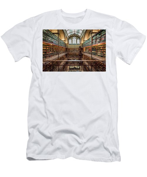 The Library Men's T-Shirt (Athletic Fit)