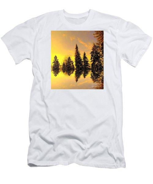 The Light Men's T-Shirt (Slim Fit) by Elfriede Fulda