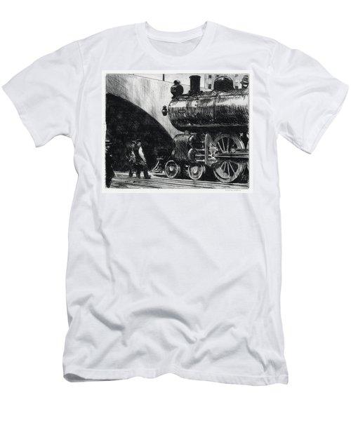 The Locomotive Men's T-Shirt (Athletic Fit)