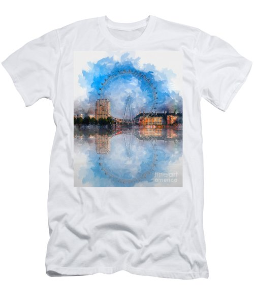 The London Eye Men's T-Shirt (Athletic Fit)