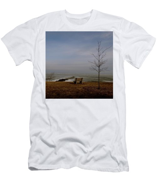 The Lonely Bench Men's T-Shirt (Athletic Fit)