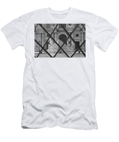 The Louvre From The Inside Men's T-Shirt (Athletic Fit)