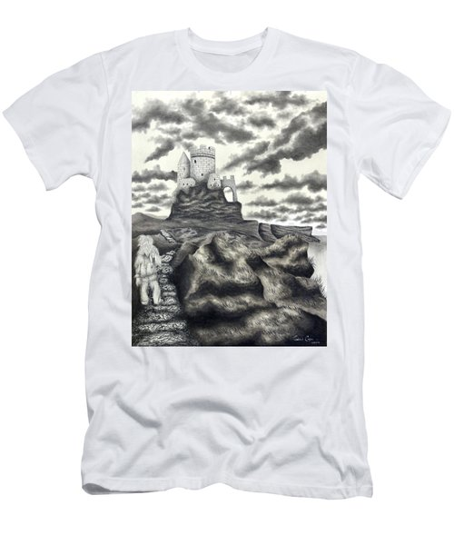The Moher Giant Men's T-Shirt (Athletic Fit)