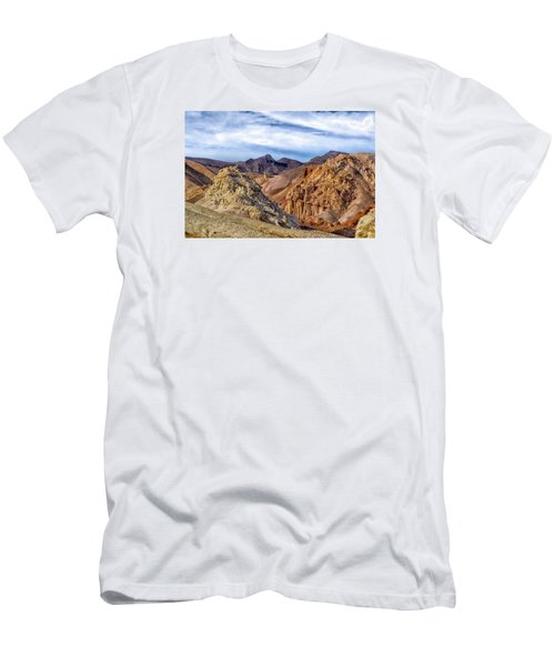 Men's T-Shirt (Slim Fit) featuring the photograph The Monte Cristos  by Janis Knight