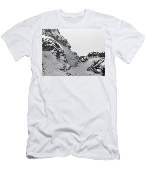The Mountain Abyss Men's T-Shirt (Athletic Fit)