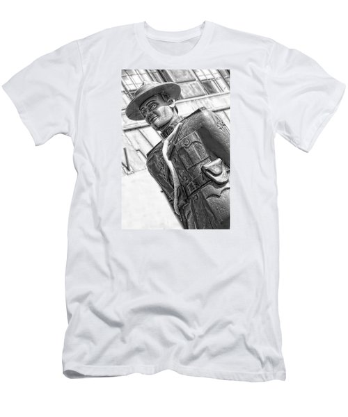 The Mountie Men's T-Shirt (Slim Fit) by Bob Pardue
