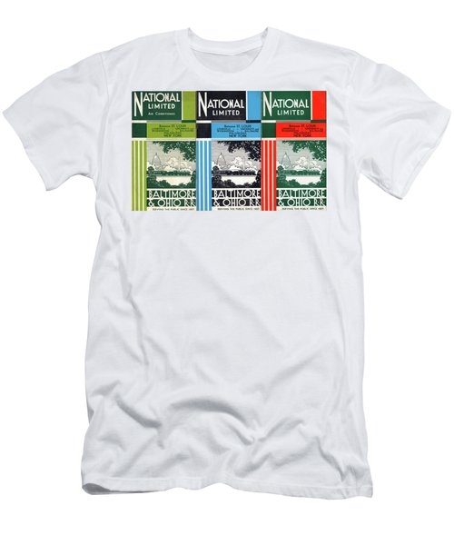 The National Limited Collage Men's T-Shirt (Athletic Fit)