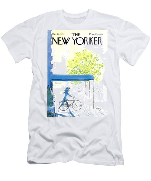 The New Yorker Cover - May 26th, 1973 Men's T-Shirt (Athletic Fit)