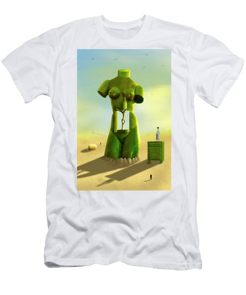 The Nightstand 2 Men's T-Shirt (Slim Fit) by Mike McGlothlen