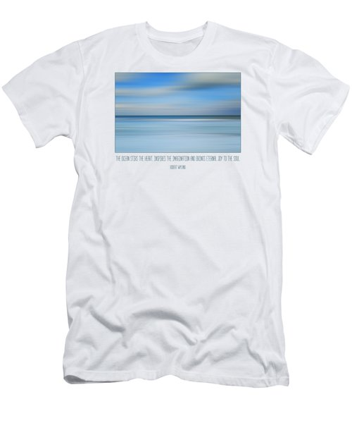 The Ocean By Robert Wyland Men's T-Shirt (Athletic Fit)